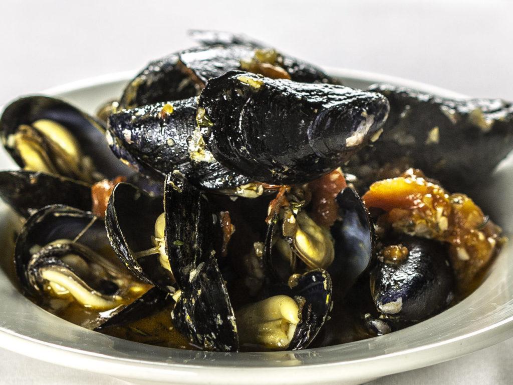Mussels a la Marinière